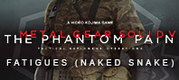 Metal Gear Solid V: The Phantom Pain — Fatigues (Naked Snake)