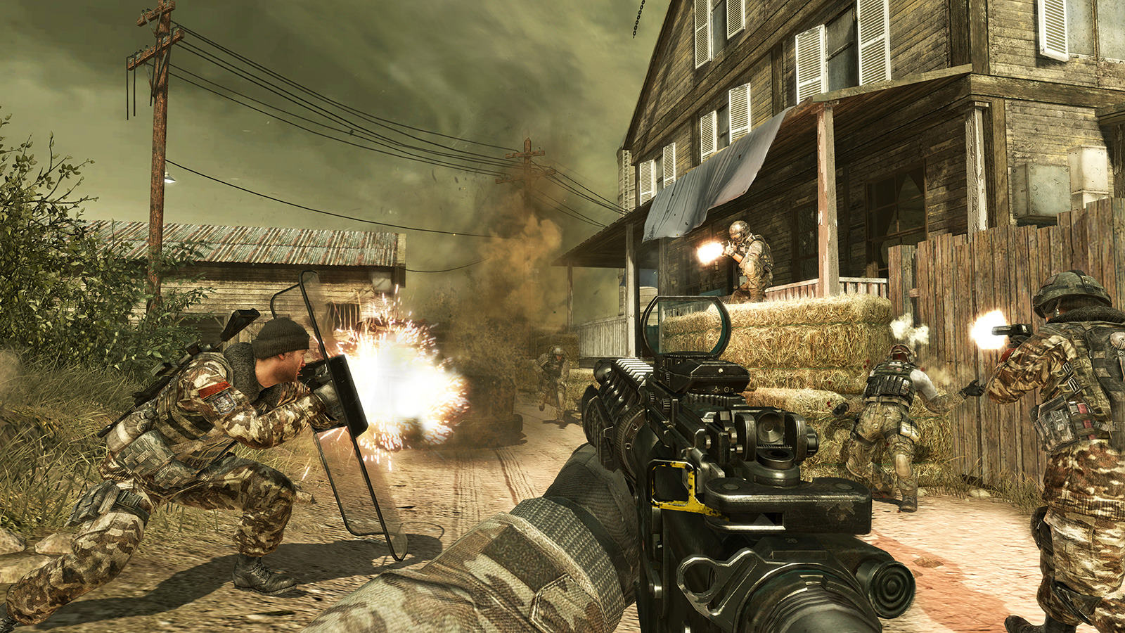 Modern warfare 2 continues the gripping and heart-racing