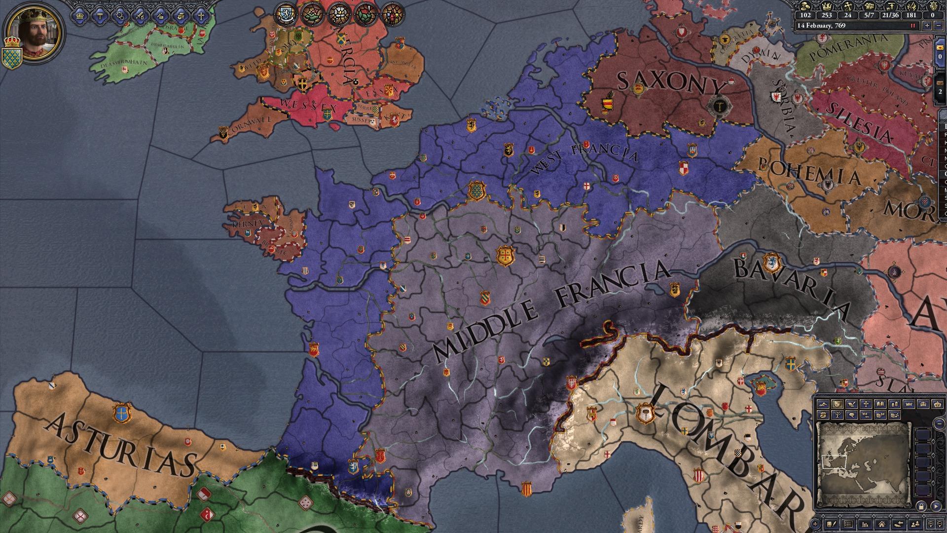 Crusader kings ii: the reaper's due | macgamestore. Com.