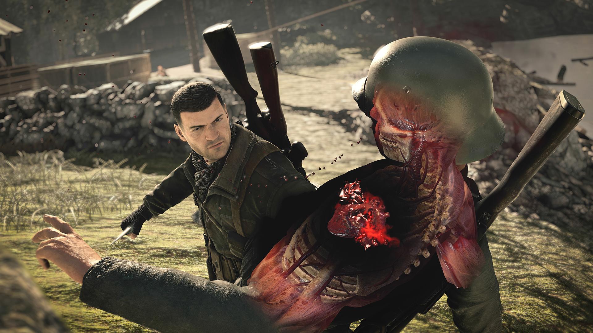 Картинки по запросу Sniper Elite 4