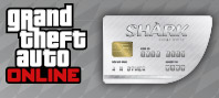 Grand Theft Auto Online : Great White Shark Cash Card