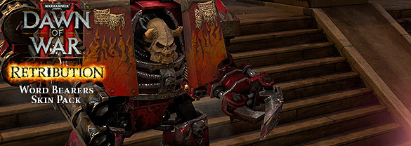 Warhammer 40,000 : Dawn of War II - Retribution - Word Bearers Skin Pack DLC