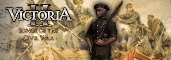 Victoria II: Songs of the Civil War (DLC)
