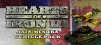 Hearts of Iron III: Axis Minors Vehicles Unit Pack
