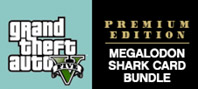 GRAND THEFT AUTO V: PREMIUM EDITION & Megalodon Shark Card Bundle