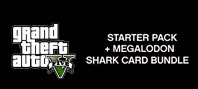 GRAND THEFT AUTO V: PREMIUM ONLINE EDITION & Megalodon Shark Card Bundle