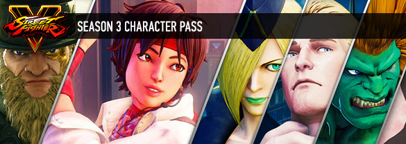 Street Fighter V: Season 3 Character Pass