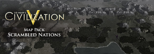 Sid Meier's Civilization V: Scrambled Nations Map Pack (для Mac)