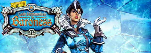 Borderlands: The Pre-Sequel — Lady Hammerlock the Baroness (для Mac)