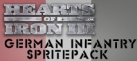 Hearts of Iron III: German Infantry Sprite