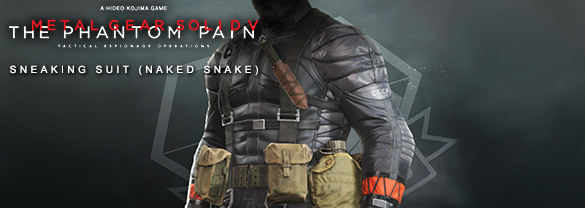 Metal Gear Solid V: The Phantom Pain — Sneaking Suit (Naked Snake)