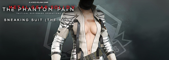 Metal Gear Solid V: The Phantom Pain — Sneaking Suit (The Boss)