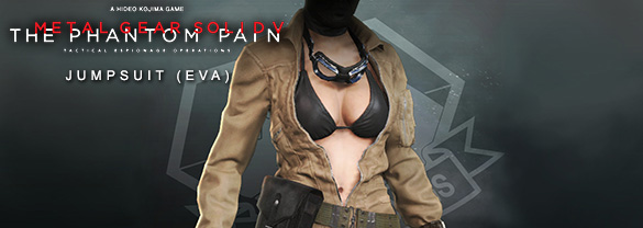 Metal Gear Solid V: The Phantom Pain — Jumpsuit (EVA)