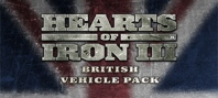 Hearts of Iron III: British Vehicle Pack